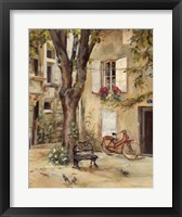Framed Provence Village I