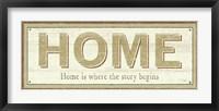 Framed Home