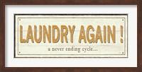 Framed Laundry again!