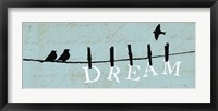Framed Birds on a Wire - Dream