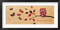 Good Morning Owl Framed Print