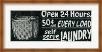 Framed Vintage Sign II