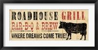 Roadhouse Grill Framed Print