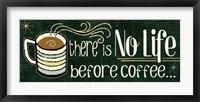 Framed Funny Coffee II
