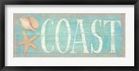 Framed Pastel Coast