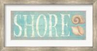 Framed Pastel Shore