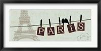 Migration I Framed Print