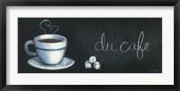 Chalkboard Menu I - Cafe Framed Print