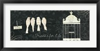 Framed Love Paris Panel IV