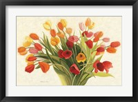 Framed Spring Tulips