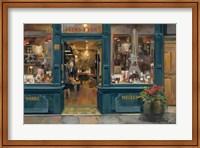 Framed Parisian Wine Shop