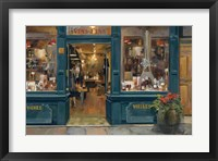 Framed Parisian Wine Shop