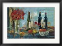Framed Fruit and Wine
