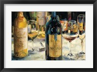 Bordeaux and Muscat Framed Print