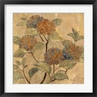 Framed Golden Hydrangea