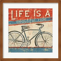 Framed Beautiful Ride I