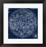 Framed Celestial Blueprint
