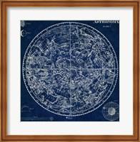Framed Celestial Blueprint