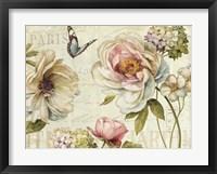 Framed Marche de Fleurs IV