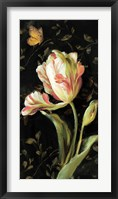 Framed Jardin Paris Florals II