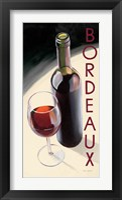 Framed Bordeaux