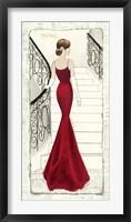 Framed La Belle Rouge