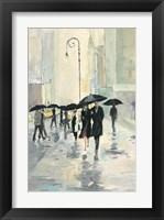Framed City in the Rain