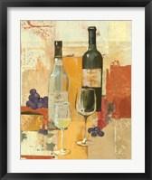 Framed Contemporary Wine Tasting II