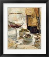 Framed Award Winning Wine I