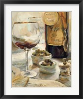 Award Winning Wine I Framed Print