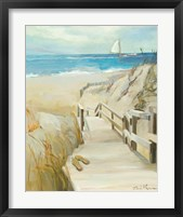 Coastal Escape Framed Print