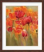 Framed Tulips in the Midst I