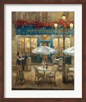 Framed Paris Cafe I
