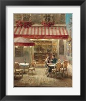 Framed Paris Cafe II