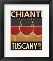 Framed Chianti