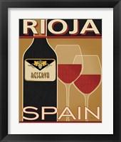 Framed Rioja