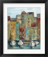 Framed Old Town Port I
