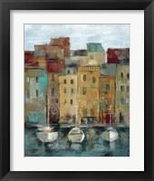 Framed Old Town Port II