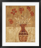 Framed Batik Tulips