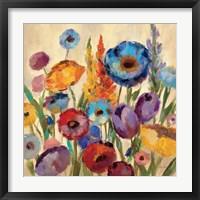 Garden Hues II Framed Print