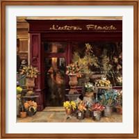 Framed Parisian Shoppe I
