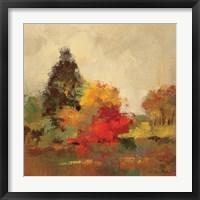 Fall Forest I Framed Print