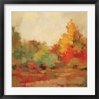 Framed Fall Forest II