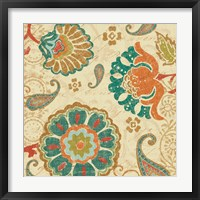 Framed Fall Paisley II