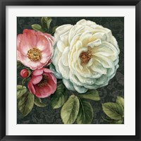 Framed Floral Damask II