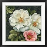 Framed Floral Damask III