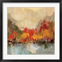Fall Riverside II Framed Print