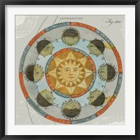 Framed Solar Calendar