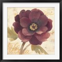 Framed Abundant Floral I