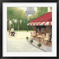 Framed Cafe du Matin III